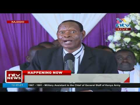 Colonel Mugambi: Nkaissery is the best friend I have ever ha