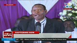 Colonel Mugambi: Nkaissery is the best friend I have ever had for 43 years