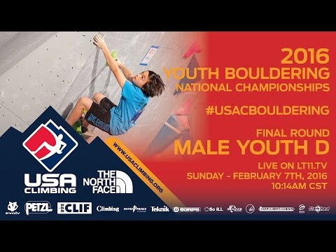 Male Youth D • Finals • Sunday February 7th 2016 • LIVE 10:14AM CST