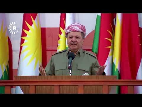 Kurdish President Masoud Barzani addresses Kurdistani nation ahead of independence referendum