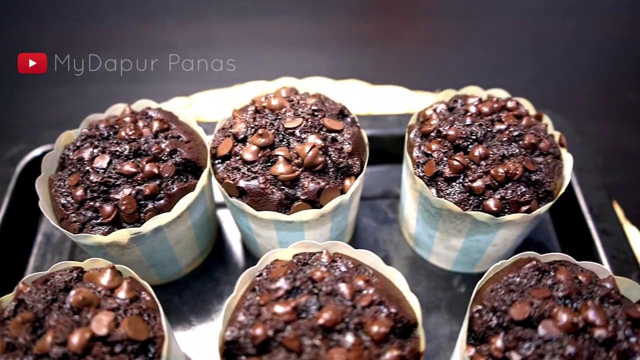Resepi Muffin Coklat Chip Moist Mydapur Panas