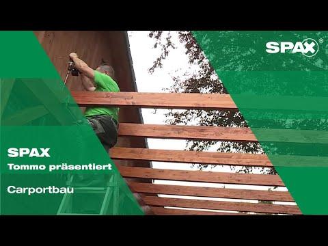 Tommo präsentiert: Carportbau mit SPAX