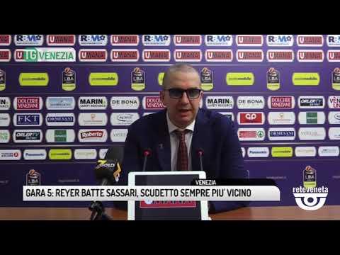 TG VENEZIA (19/06/2019) - GARA 5: REYER BATTE SASS...