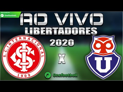 Internacional x Universidad de Chile Ao Vivo | Libertadores 2020 | Segunda fase | Narração
