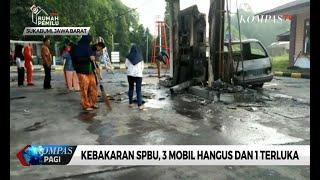 Pasca Terbakar SPBU di Sukabumi Masih Tutup