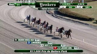 Vidéo de la course PMU PRIX DE BATTERY PARK