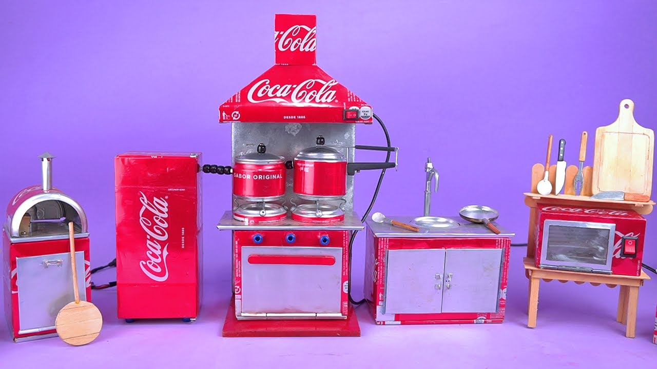 Download Amazing Mini Appliances made with Soda Cans