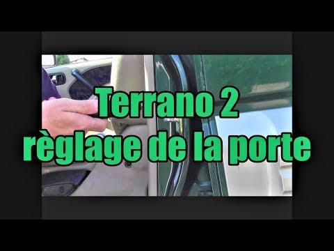 Terrano 2 r glage de la fermeture de porte youtube for Demonter une serrure de porte