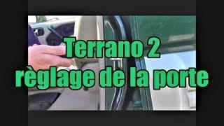 Terrano 2: réglage de la fermeture de porte