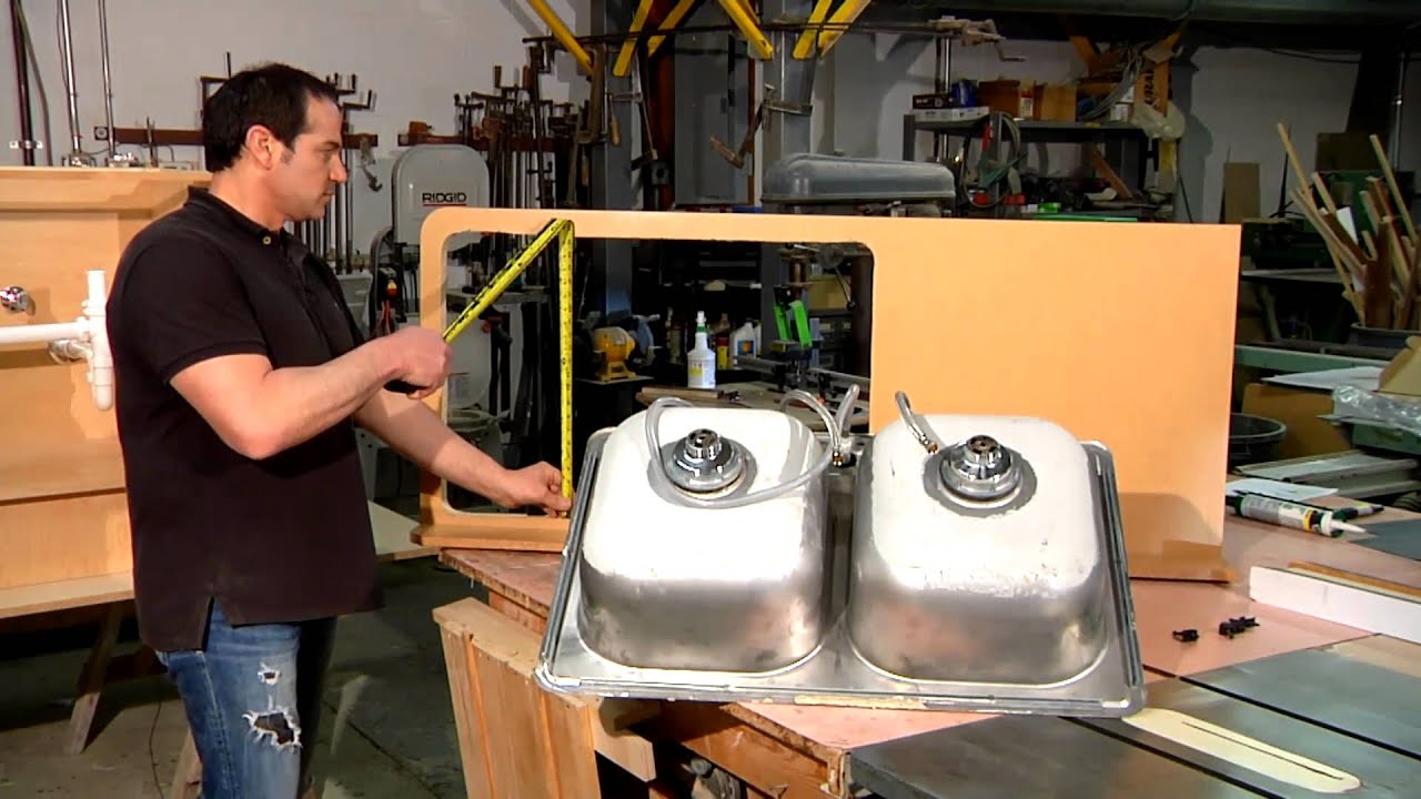 How To Size A Kitchen Sink Home Sweet Home Repair Youtube