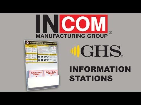 GHS: HazCom 2012 & WHMIS 2015 Information Stations
