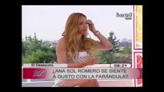 Ana Sol Romero cuenta que en un principio le tenía miedo a la farándula