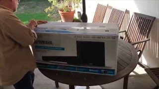Customer unboxing: Yamaha YAS-203 sound bar | Crutchfield video