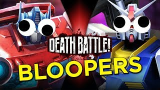 Optimus Prime VS Gundam Bloopers!
