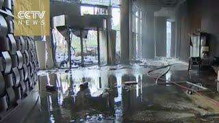 Dubai police release video of damaged hotel