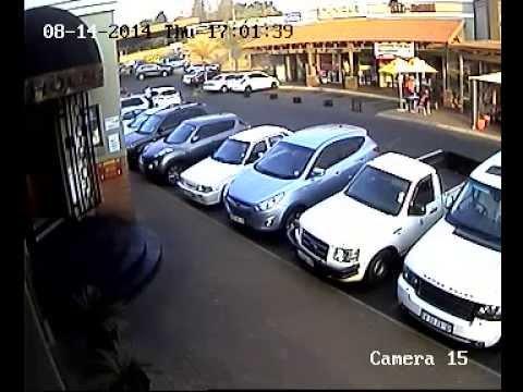 Car jamming in Joburg.