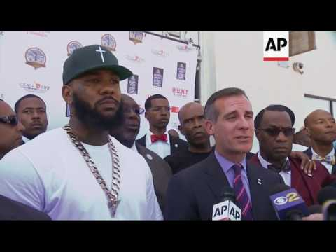 Rapper The Game sentenced for punching Los Angeles policeman