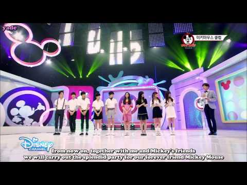 [ENG] 150723 Mickey Mouse Club - Self Intoduction