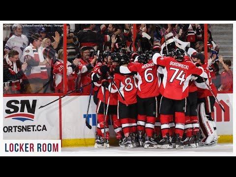 Oct 12: Sens vs. Leafs - Post-game Media