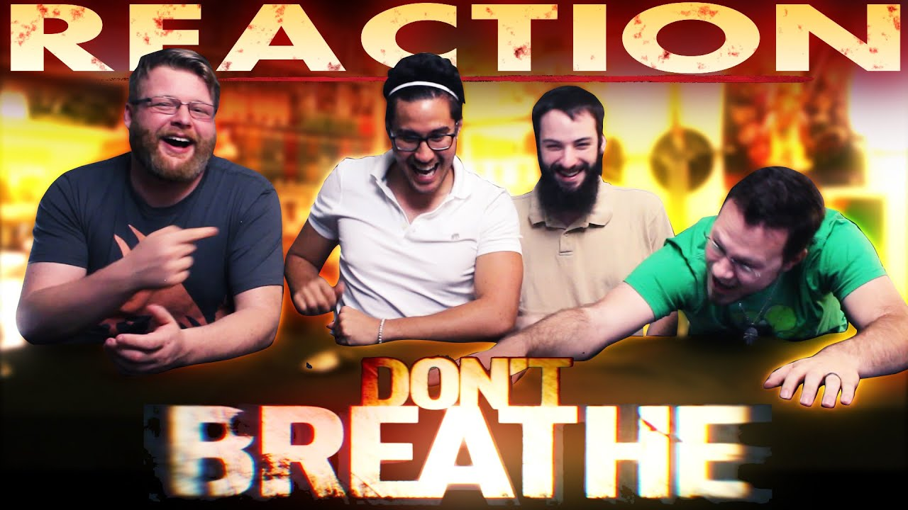 Don't Breathe Trailer REACTION!! - YouTube
