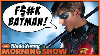 Robin Says The F Word - The Kinda Funny Morning Show 07.19.18