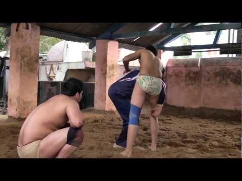 Wrestling Practice at Guru Hanuman Akhara