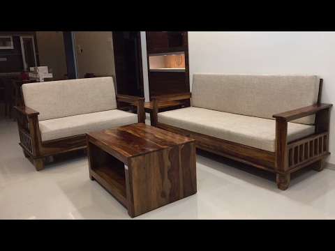 wooden polo sofa 3 2 1 1 set with center table rightwood youtube rh youtube com