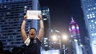 Hong Kong Students Drive Protests Into Business Districts