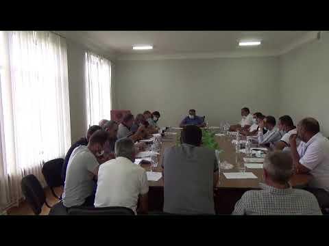 Եղվարդ համայնքի ավագանու նիստ 07․09․2021թ․