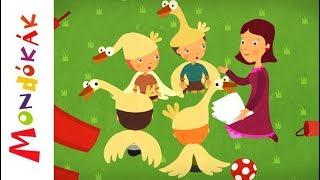 Gyertek haza ludaim | Gyerekdalok és mondókák, rajzfilm gyerekeknek