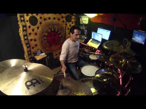 Nick D'Virgilio Drum Rehearsals