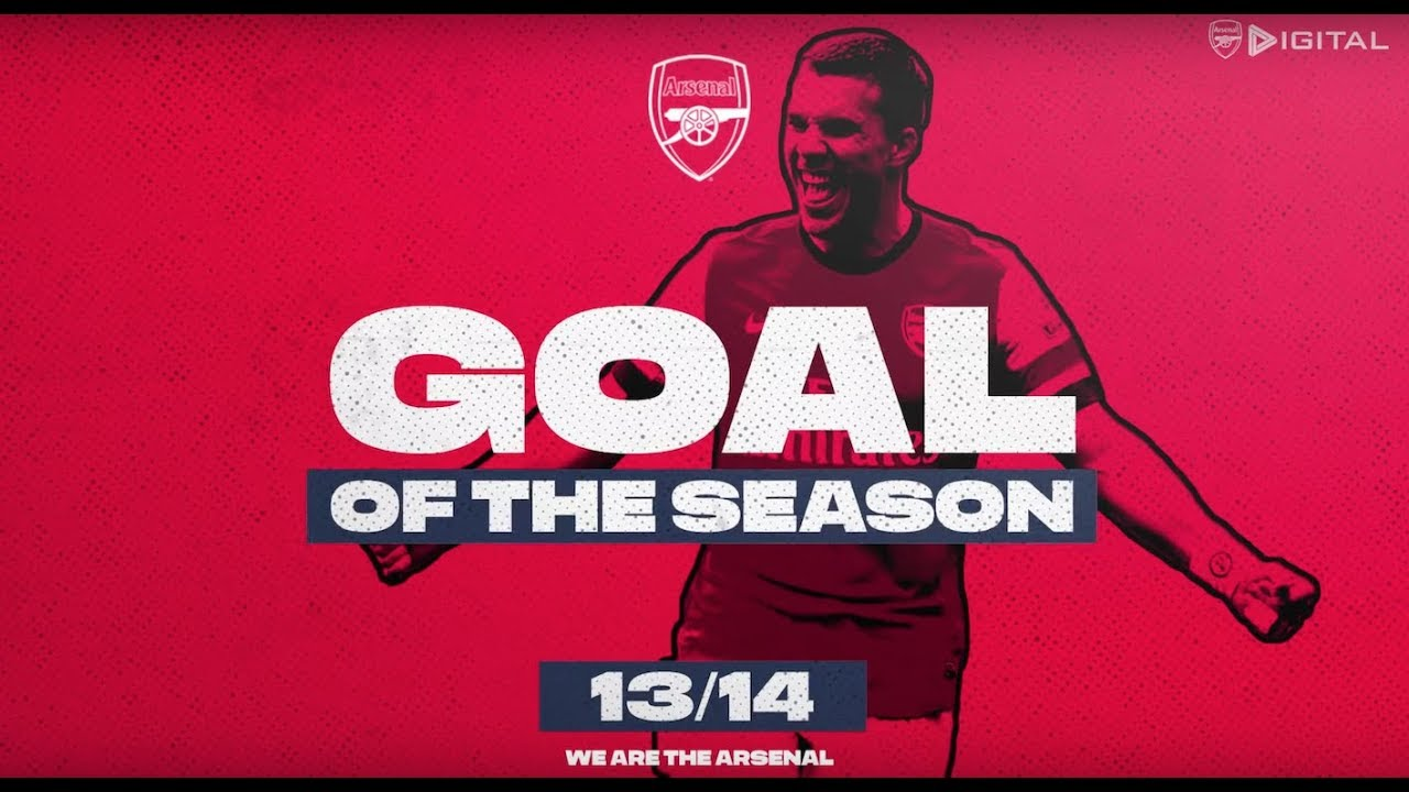 Cazorla, Ramsey and THAT Wilshere goal | Arsenal Goals of the season | 2013/14