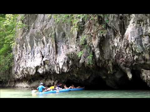 Andaman Sea Kayak Phang Nga Bay ,Thailand