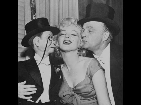 Marilyn Monroe Marries(almost) Charlie McCarthy on the Edgar Bergen radio show 1952