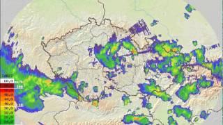 Radarová animace - 26.5.2014