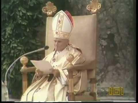 Papa Giovanni Paolo II - Karol Wojtyla - Discorso - Non abbiate paura...