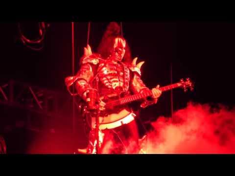 """Gene Spits Blood & God of Thunder"" KISS@Allentown Fair Allentown, PA 9/1/16"