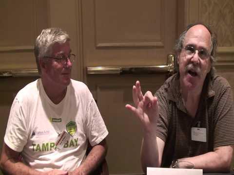 Part 2 Rick Wilber Paul Levinson talk to Joe Viglione at Readercon 2011 in Burlington