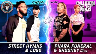 Video LOSO & STREET HYMNS vs PHARA FUNERAL & SHOONEY DA RAPPER (2v2 Rap Battle) | BULLPEN vs QOTR download MP3, 3GP, MP4, WEBM, AVI, FLV Agustus 2018