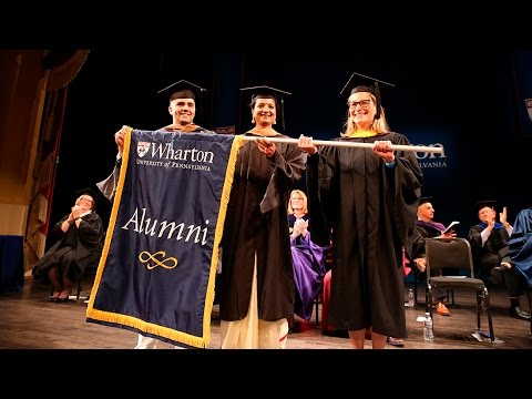 Wharton | San Francisco Executive MBA Graduation Ceremony 2016