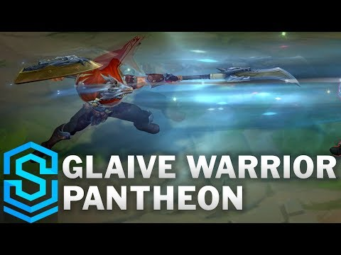 Glaive Warrior Pantheon Skin Spotlight - Pre-Release - League of Legends