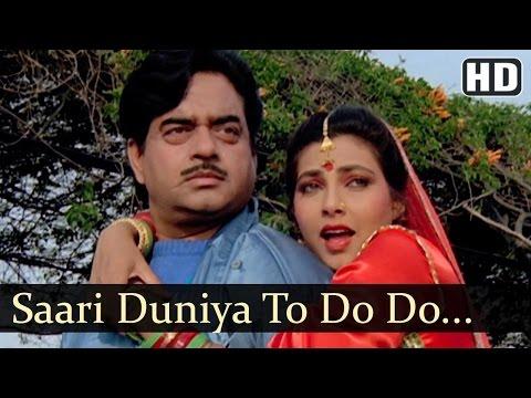 Saari Duniya To Do Do Ho Gayee | Dharamyudh Songs | Shatrughan Sinha | Kimi Katkar | Sadhana Sargam