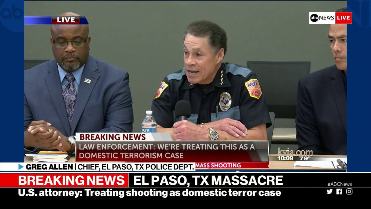 El Paso shooting: Officials give update on mass shooting    ABC News