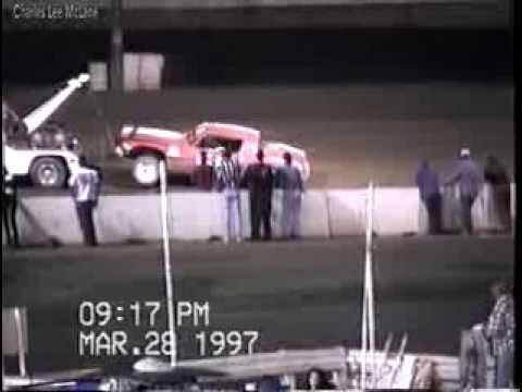 Mar 28 1997 semi maim Manzanita Charles McLane car 50 Manzanita Speedway