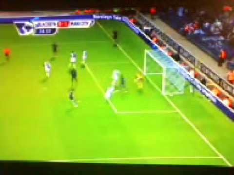 Blackburn Rovers - Man. City 0-1 (Edin Džeko) 25.04.2011