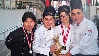 7. Uluslararası Altın Kep Aşçılar Yarışması Türkiye İkinciliği Fethiye OTML