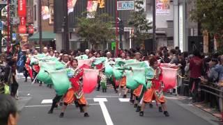 2014年10月12日に行われました池袋ふくろ祭り、 東京よさこい本祭みずき...