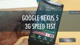 google nexus 5 3g speed test in india