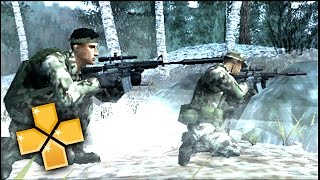 Socom US Navy Seals Fireteam Bravo 3 PPSSPP Gameplay Full HD / 60FPS