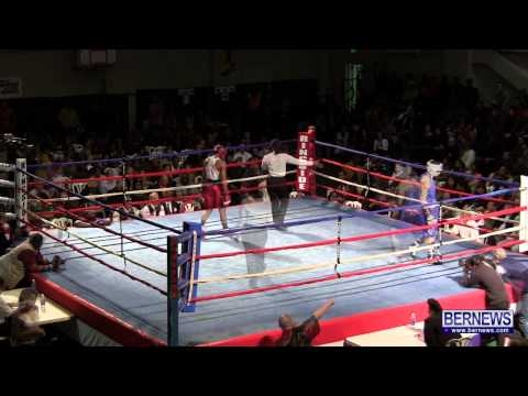 Nikki Bascome vs Matthew Abregu At Fight Night 15, Feb 2 2013